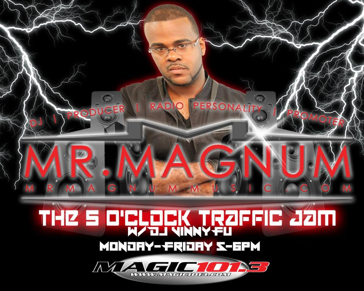 The 5 O'Clock Traffic Jam 1/20/17 on Magic 101.3