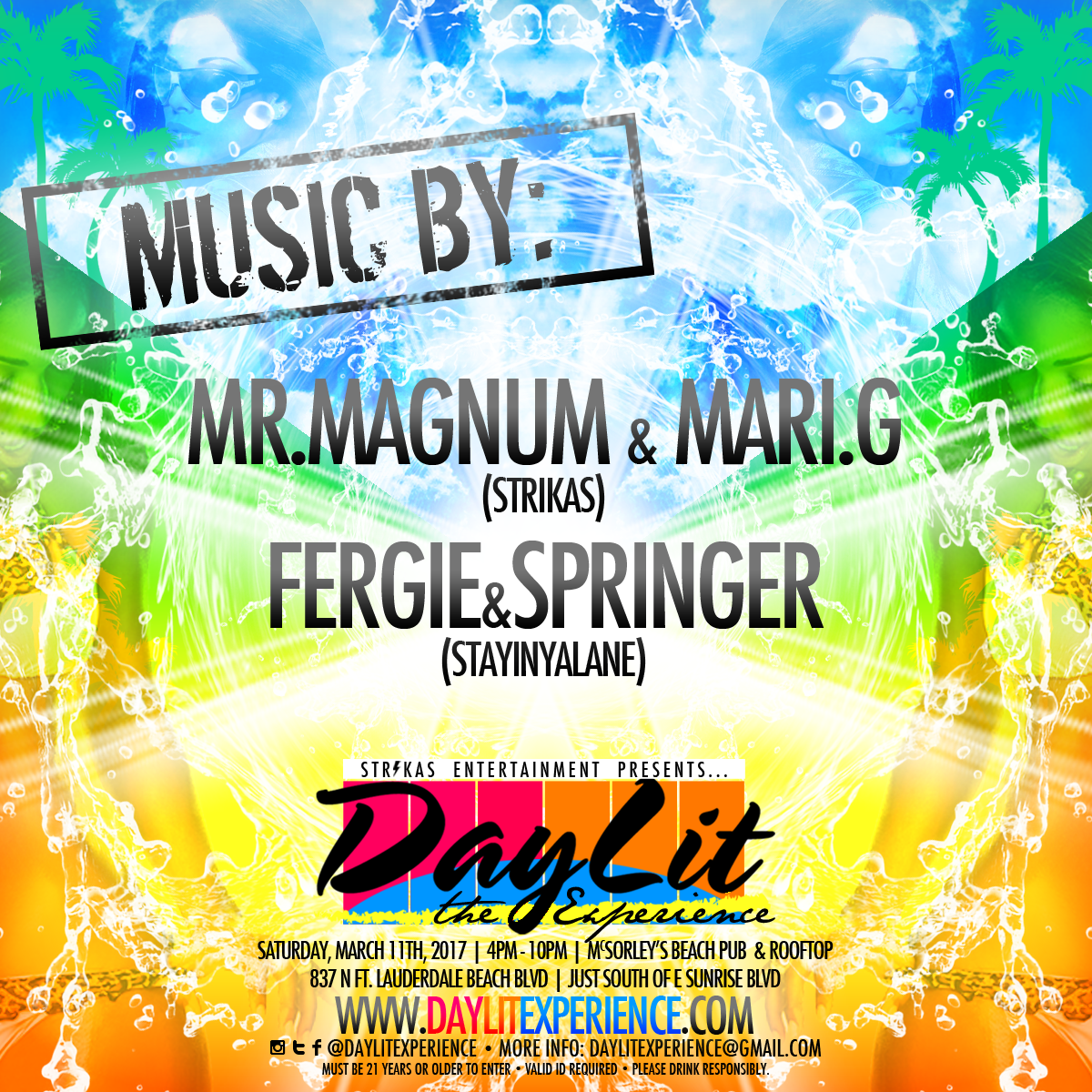DayLit - The Experience - Promo Mix for March 11th, 2017 with @MariGInTheMix