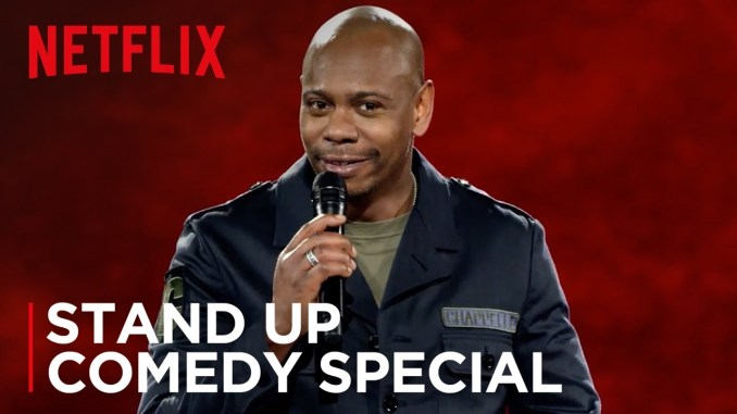 Dave Chappelle - Netflix Trailer for Stand Up Comedy Special