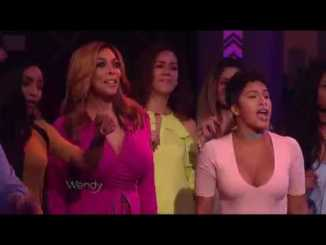 "Charly Black Performs ""Party Animal"" Live On Wendy Williams"