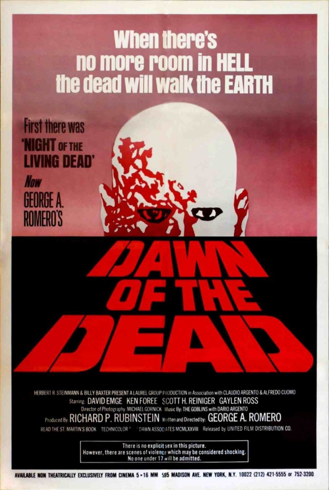 Dawn Of The Dead * * * * 1/2 (1/2)