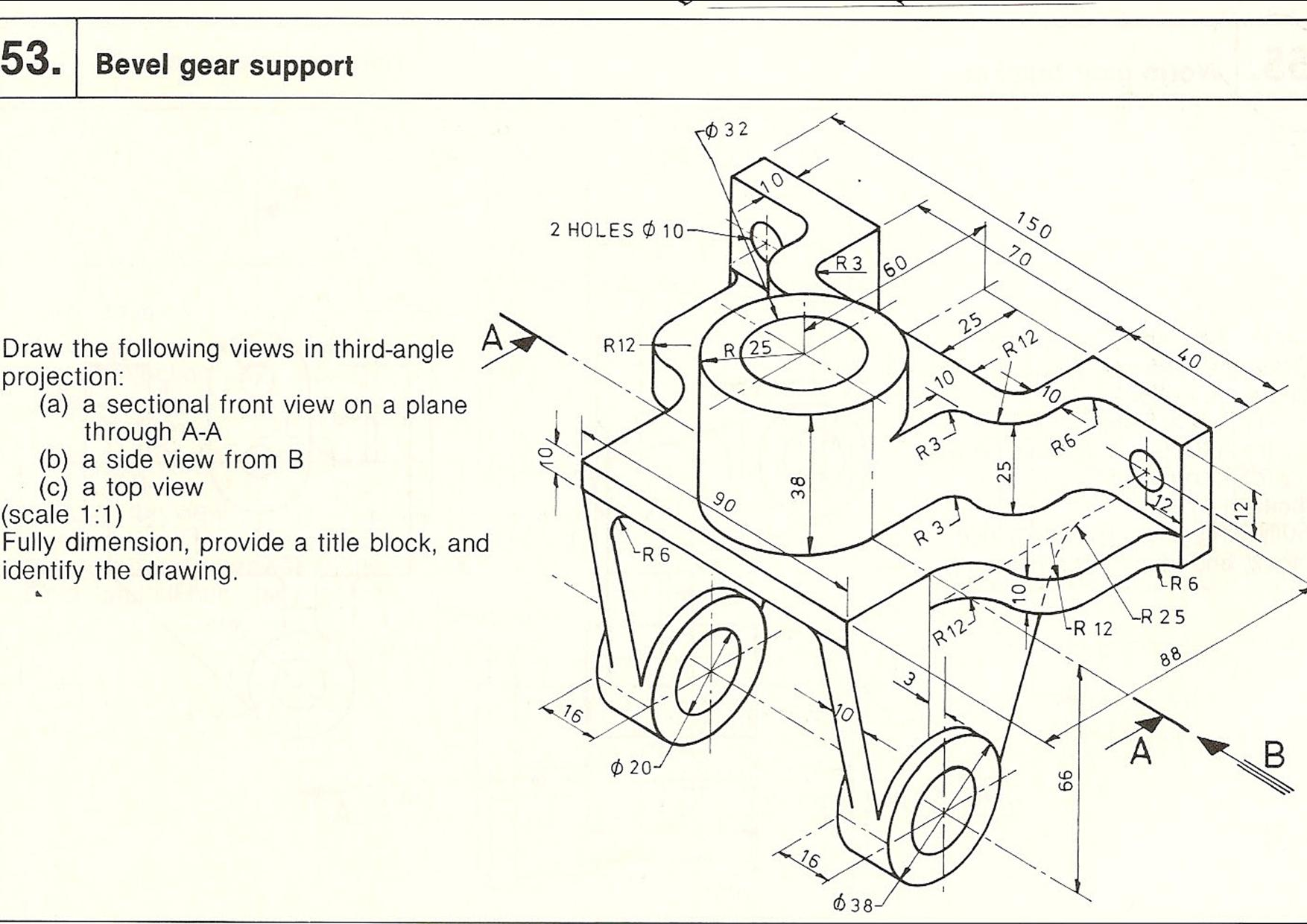 Technical Sketching Worksheet