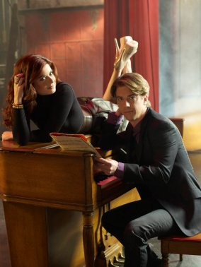 Debra Messing, Christian Borle, Smash, NBC