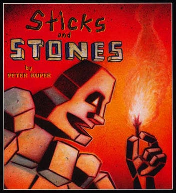 Stick and Stones by Peter Kuper, graphic novelist, Mr. Media Interviews