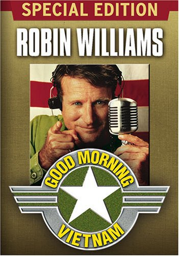 Good Morning Vietnam starring Robin Williams and Robert Wuhl, Mr. Media Interviews
