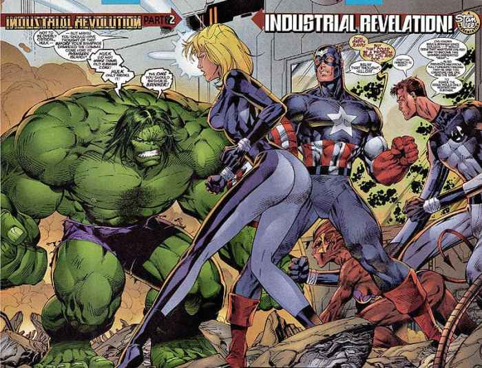 Fantastic Four by Jim Lee, Heroes Reborn, Marvel Comics, Mr. Media Interviews