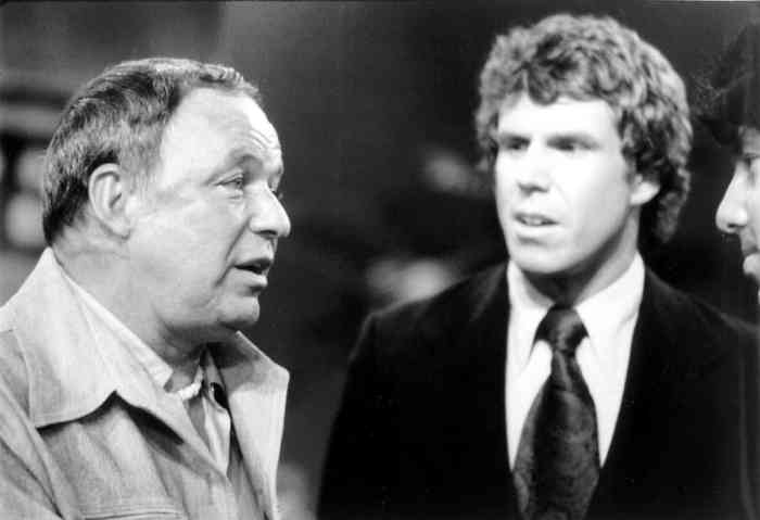 Bill Boggs and Frank Sinatra on Midday Live, WNEW Channel 5, New York, Mr. Media Interviews