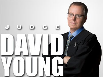 Judge David Young (Photo: Copyright © 2008 Sony Pictures Television. All rights reserved.)