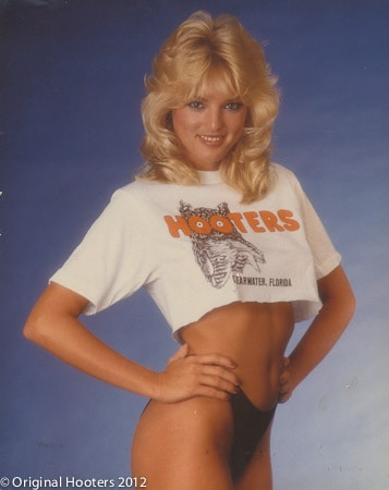 Lynne Austin, the original Hooters Girl