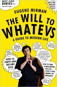 Eugene Mirman, comedian, The Will to Whatevs, Mr. Media Interviews