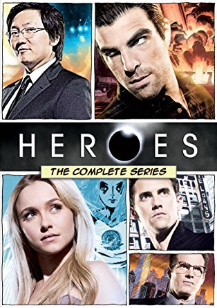 Heroes: The Complete Series starring Milo Ventimiglia and Adrian Pasdar, Mr. Media Interviews
