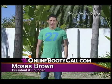 Moses Brown, founder, OnlineBootyCall.com, Mr. Media Interviews