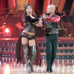 Edyta Sliwinska and Joey Lawrence compete in ABC's Dancing With The Stars
