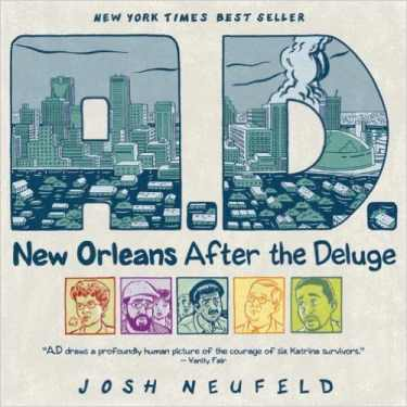 A.D.: New Orleans After Deluge by Josh Neufeld, Mr. Media Interviews
