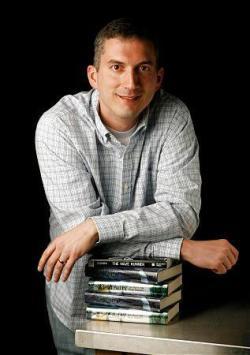 Young adult novelist James Dashner