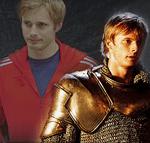 Actor Bradley James stars in Merlin