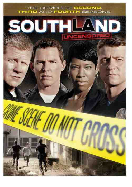 Southland: The Complete Second, Third and Fourth Seasons on DVD, co-starring Patrick Fischler, Mr. Media Interviews