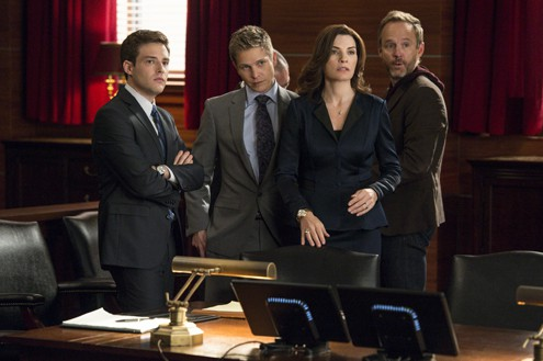 Ben Rappaport, Julianna Margulies, actors, The Good Wife, Mr. Media Interview