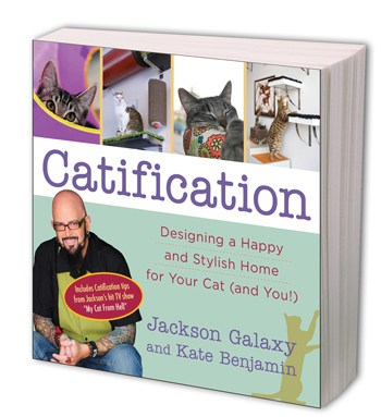 Catification by Jackson Galaxy and Kate Benjamin, My Cat From Hell, Mr. Media Interviews