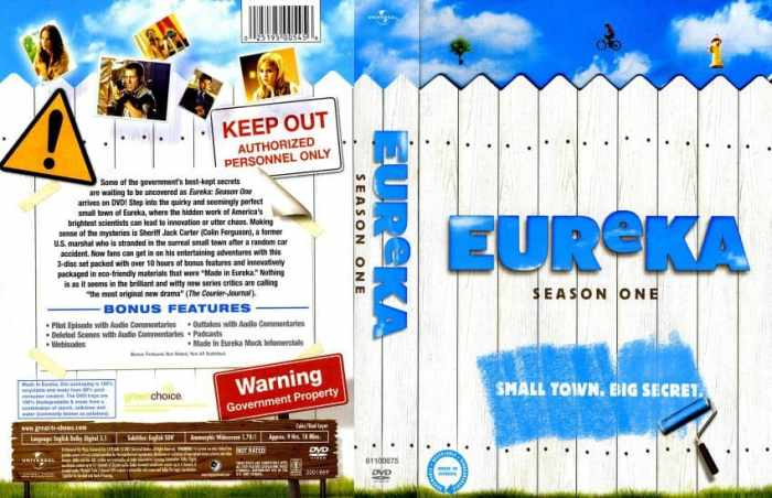 Eureka Season One, SyFy, Neil Grayston, Mr. Media Interviews