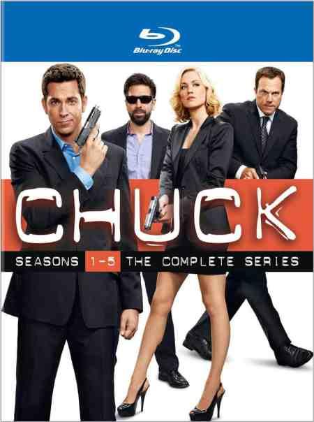 Chuck The Complete Series Blu-Ray DVD, Ryan McPartlin, Zachary Levi, Yvonne Strahovski, Mr. Media Interviews