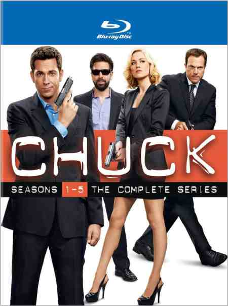 Chuck The Complete Series Blu-Ray DVD, Ryan McPartlin, Zachary Levi, Yvonne Strahovski, Mr. Media Interviews