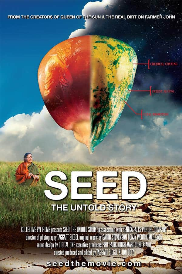 Seed: The Untold Story, a film by Taggart Siegel and Jon Betz, Mr. Media Interviews