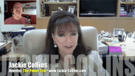 Today's Guest: Jackie Collins, novelist, The Power Trip   Watch the exclusive Mr. Media interview with New York Times best-selling novelist Jackie Collins by clicking on the video player above!Mr....