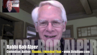 Today's Guest: Rabbi Bob Alper, comedian   Mr. Media is recorded live before a studio audience of kibitzers who will sit through this interview hoping that the nosh afterward will […]