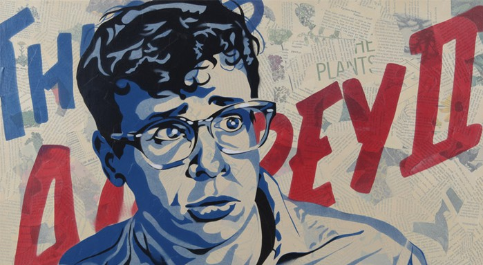"""Little Shop of Horrors"" cult movie art, Gallery 1988, Mr. Media Interviews"