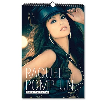 2014 Raquel Pomplun Wall Calendar, Mr. Media Interview