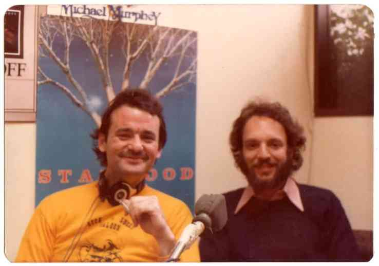 Kenny Weissberg, Bill Murray, 1978, Off My Rocker, Mr. Media Interviews