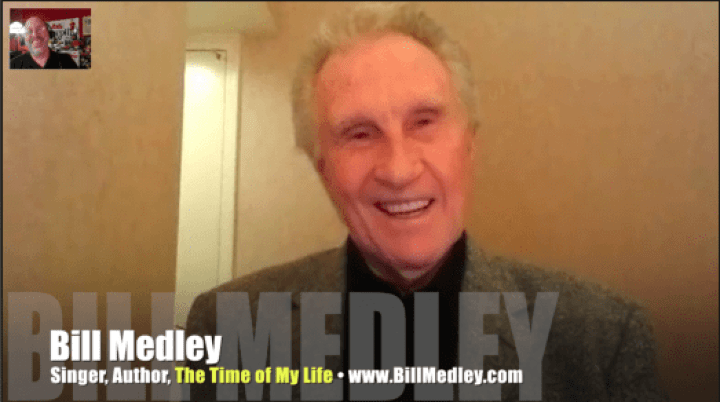 Bill Medley, Righteous Brothers, singer, Mr. Media Interview