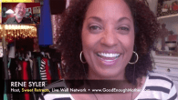 "Today's Guest: TV's Rene Syler, host, ""Sweet Retreats,"" author, Good Enough Mother   Watch this exclusive Mr. Media interview with TV's Rene Syler, host of ""Sweet Retreats"" on the Live Well..."