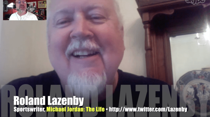 Roland Lazenby, Michael Jordan: The Life, writer, Mr. Media Interviews