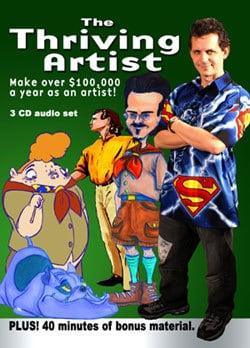 The Thriving Artist, author, Mark Simon, Mr. Media Interviews