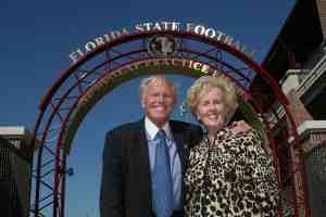 Al & Judy Dunlap, Al Dunlap Practice Fields, FSU, Florida State University Photography Services