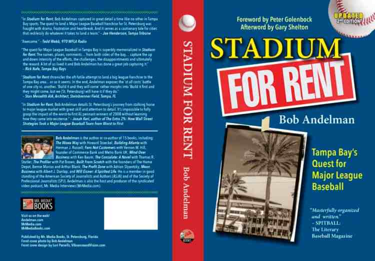 Stadium for Rent by Bob Andelman, Mr. Media Interviews