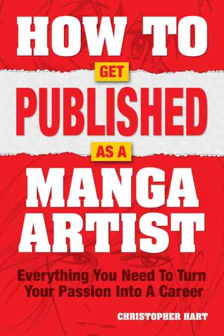 How to Get Published As A Manga Artist by Christopher Hart, how-to instruction, Mr. Media Interviews