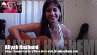 Today's Guest: Aliya Hashemi, singer, Zeta Wave, two songs performed live  Watch this exclusive Mr. Media interview with Zeta Wave singer/songwriter Aliya Hashemi by clicking on the video player...