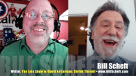 "Today's Guest: Bill Scheft, novelist, Shrink Thyself, Everything Hurts, The Ringer, Time Won't Let Me; comedy writer, ""The Late Show with David Letterman""   Watch this exclusive Mr. Media interview..."