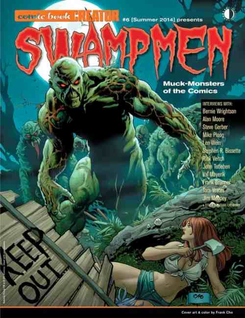 Swampmen: Muck-Monsters of the Comics by Jon B. Cooke, Man-Thing, Swamp Thing, Mr. Media Interviews