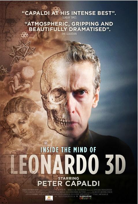 Peter Capaldi in Inside the Mind of Leonardo da Vinci 3D, Doctor Who, Mr. Media Interviews