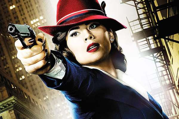 Marvel's Agent Carter, Hayley Atwell, Tara Butters, showrunner, Mr. Media Interviews