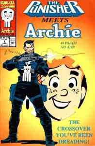 The Punisher Meets Archie written by Batton Lash, Mr. Media Interviews