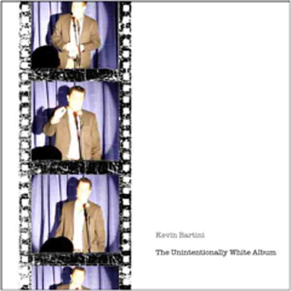 The Unintentionally White Album' by comedian Kevin Bartini, The Nightly Show with Larry Wilmore, Mr. Media Interviews