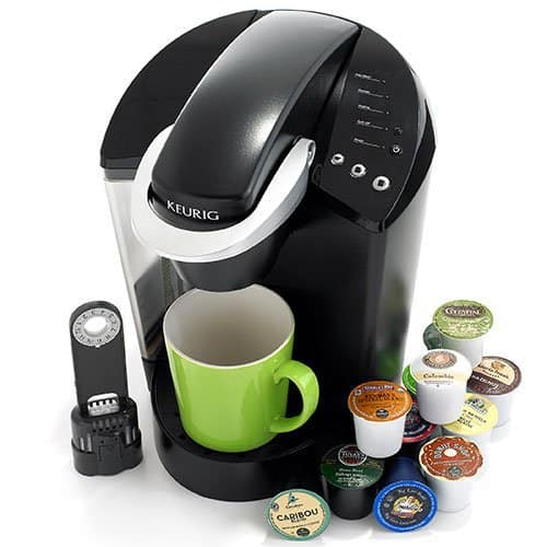 Keurig 45 Elite Brewing System, Black, Mr. Media Interviews
