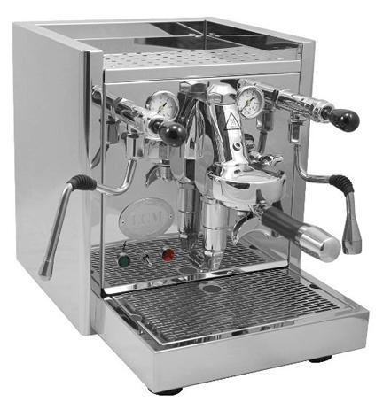 ECM ProFi IV Espresso Machine, with rotary pump and direct connect tank, Mr. Media Interviews