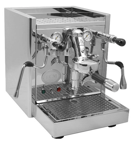 ECM ProFi IV Espresso Machine, with rotary pump and direct connect tank, Mr. Media Interviews