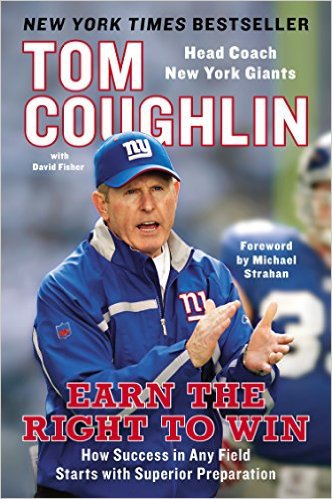 Earn the Right to Win by Tom Coughlin, Mr. Media Interviews